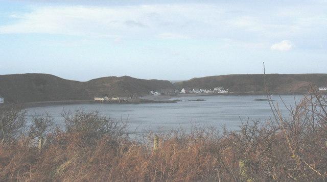 The sheltered beachhead hamlet of Porthdinllaen