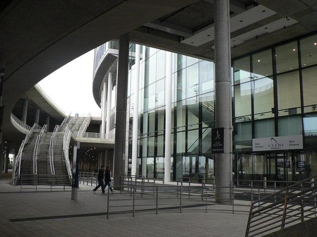 Wembley Stadium: main entrance