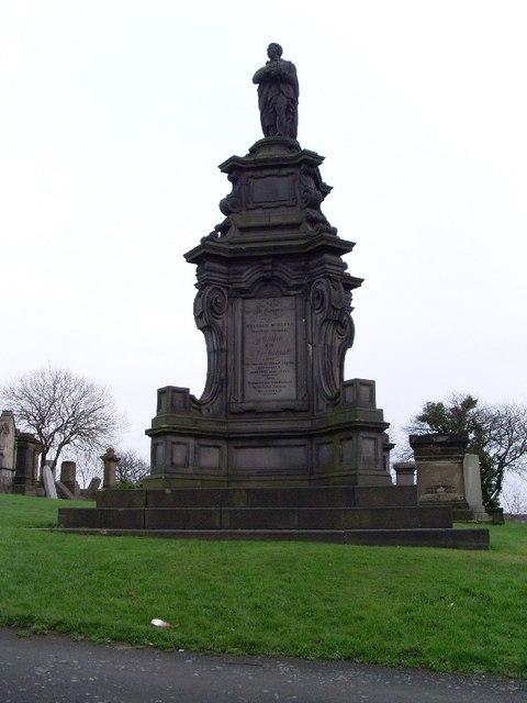 William McGavin memorial, Glasgow Necropolis