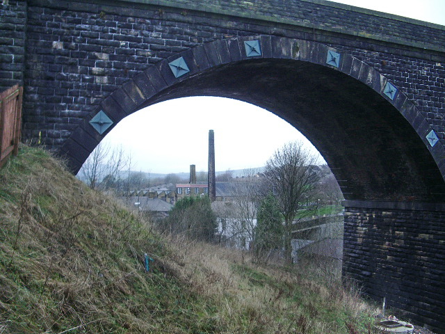 The chimneys of Greenfield Mill