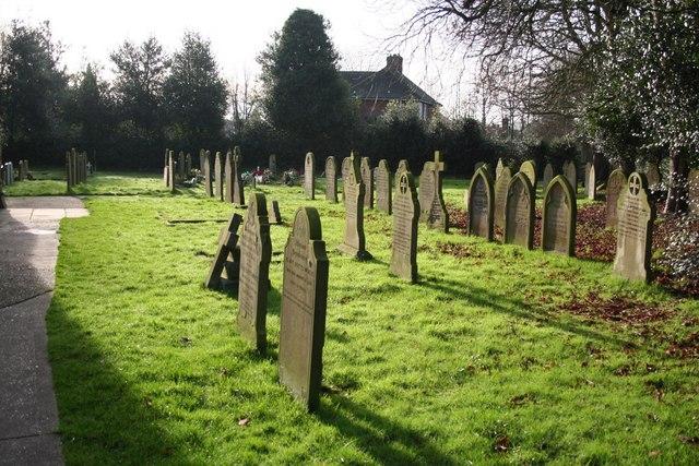 All Saints' churchyard