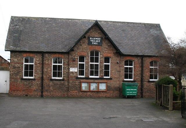Tockwith village hall