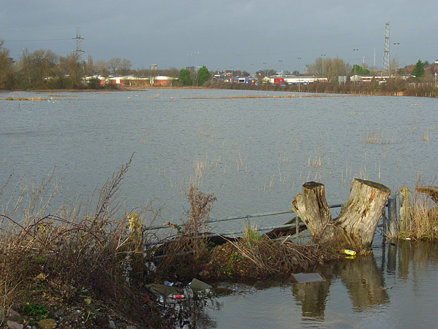 The Kennet floodplain, Reading