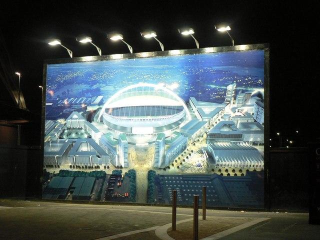 Wembley: aerial illustration