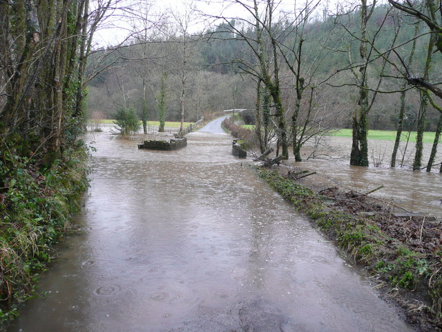 Flooding at Beaford Bridge