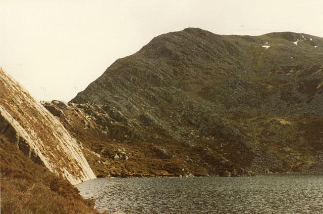 Looking south across Llyn Hywel