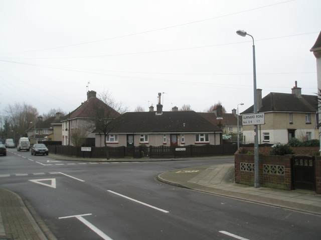 Crossroads of Totland  and Gurnard Road