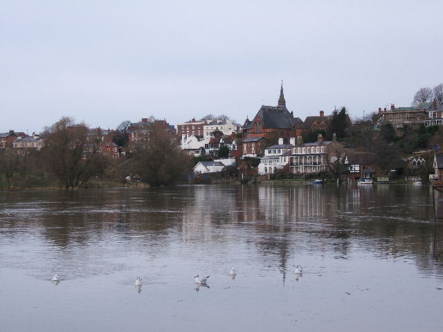 The River Dee from Sandy Lane