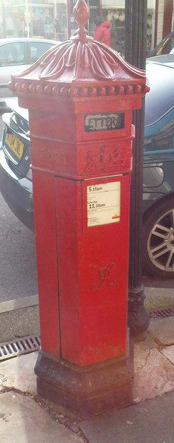 Hexagonal Postbox