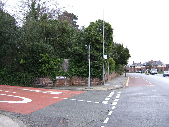 Road Junction, Boughton, Chester