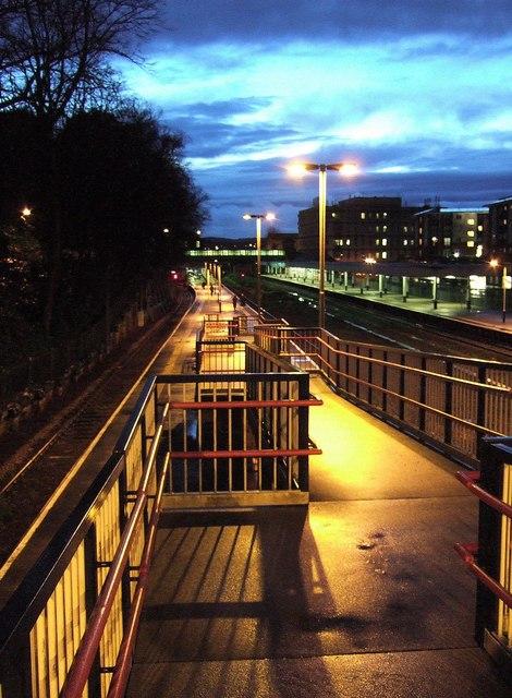 Ramp, Exeter Central station
