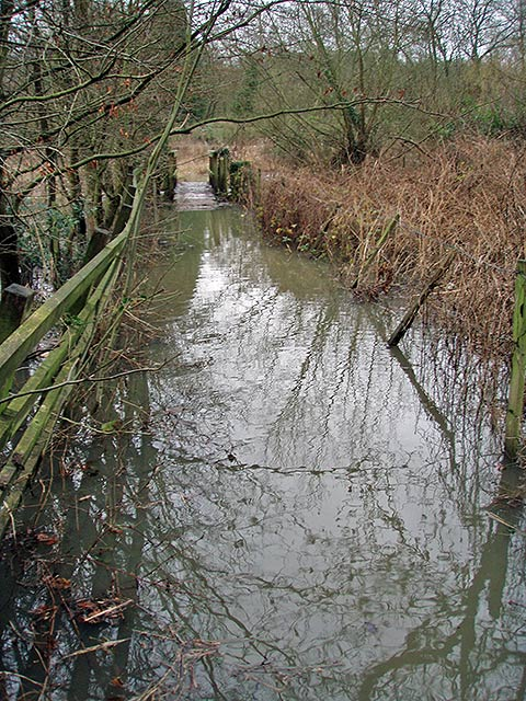 Footbridge near Bolney Court