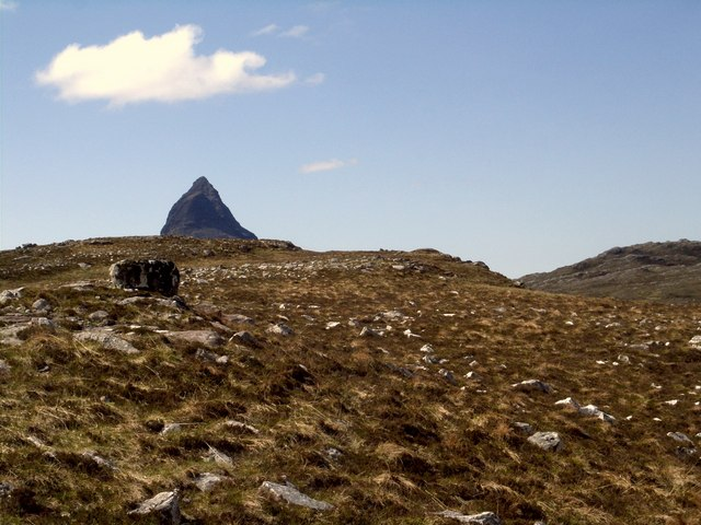 Top of Meall na Braclaich