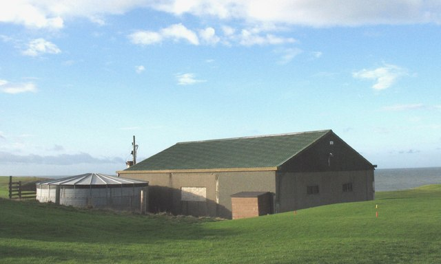 Golf course maintenance building, Porthdinllaen