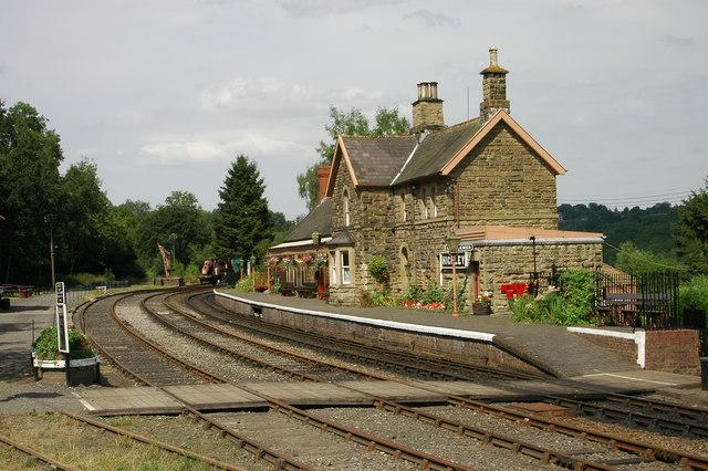 Highley SVR Station