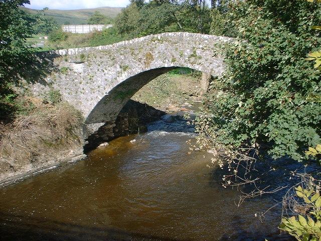 Bridge of Keltie military bridge