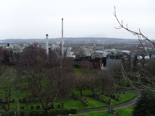 East End from the Necropolis