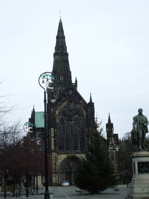 Glasgow Cathedral from Cathedral Street