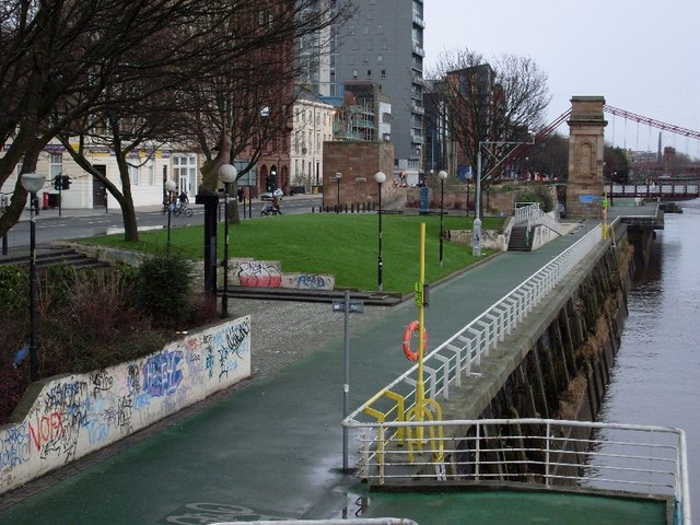 North bank of the River Clyde