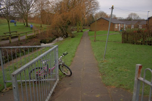 Footpath to Back of Housing