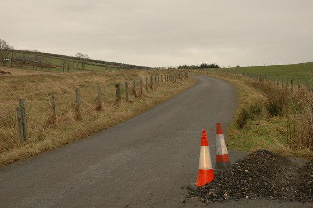 Unclassified road near Shenwall