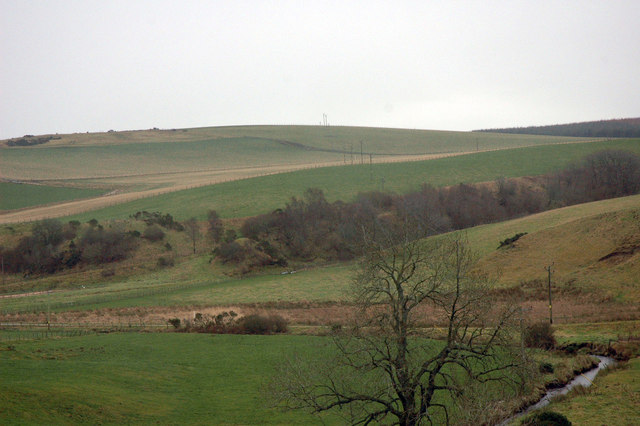 Farmland near Botary Mains