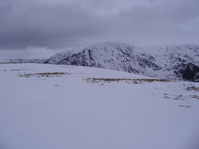 Capel Mounth on a wintry day