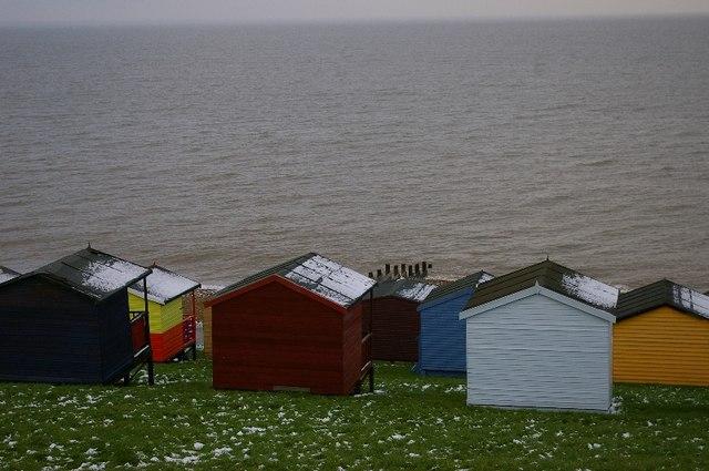 Huts, Herne Bay.