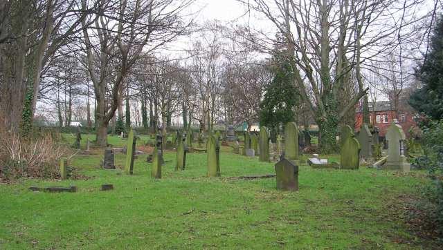St Stephen's Graveyard - Morris Lane