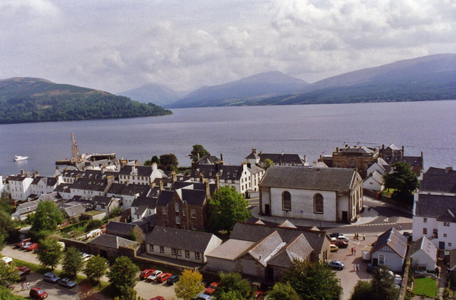 View from the Bell Tower, Inveraray
