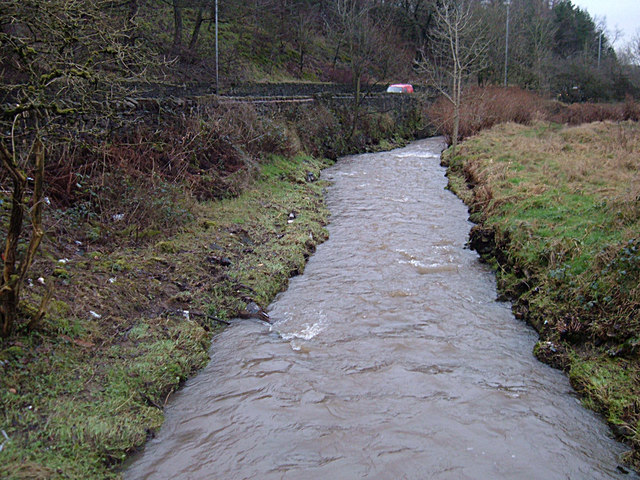 A Swollen River Beal at Jubilee