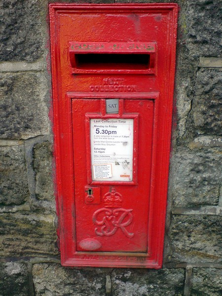 Postbox, Layton Road