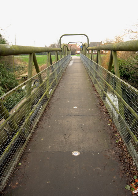 Bridge Over the River Nene (old course)