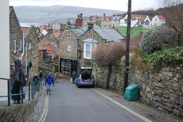 Descent into Robin Hood's Bay