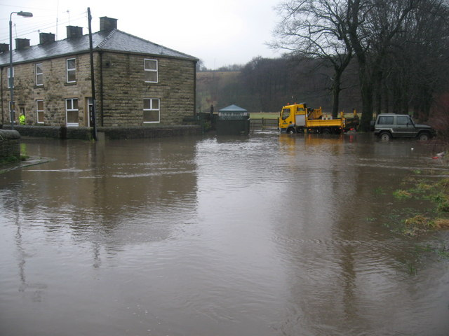 Flooding in North Street Strongstry