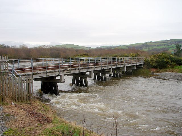 The Rheidol Bridge
