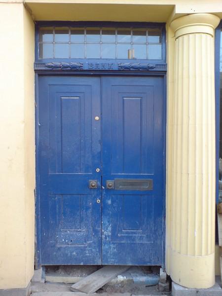 Blue door, Town Street, Horsforth