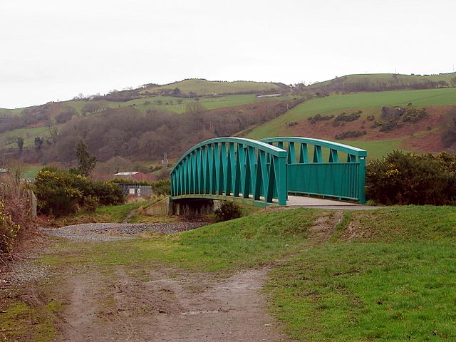 The Rheidol Cycle Trail Bridge