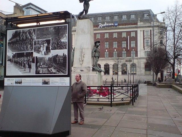 Photographic exhibition (2), The Headrow, Leeds