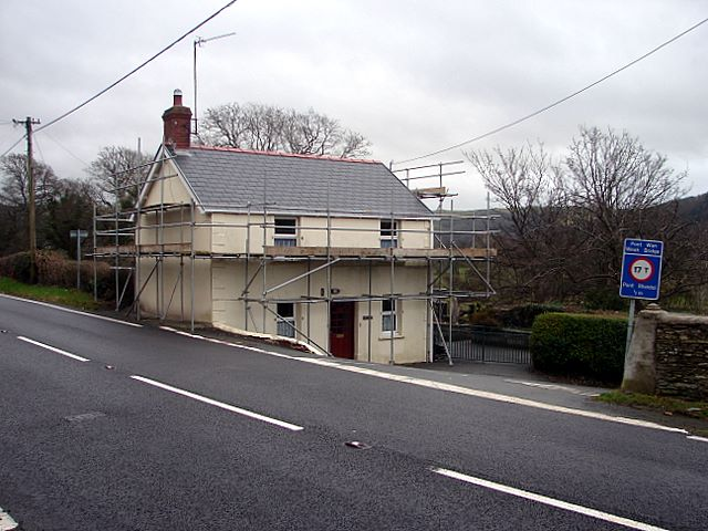 Cottage being refurbished