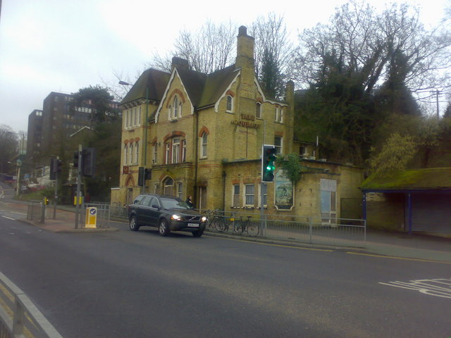 Railway and Bicycle - Disused Public House
