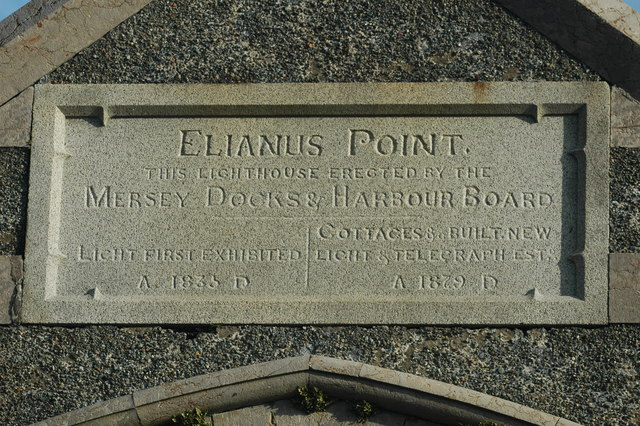 Entrance to Point Lynas Lighthouse/Elianus Point