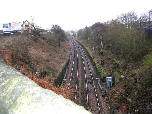 Railway Line - from Dick Lane bridge No LBE 1/36