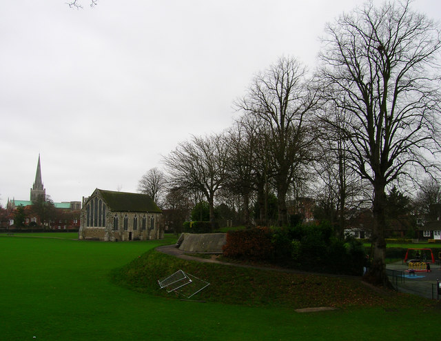 Remains of Chichester Castle