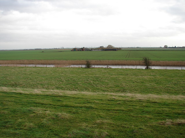 St Peter's Farm from the Nene Way