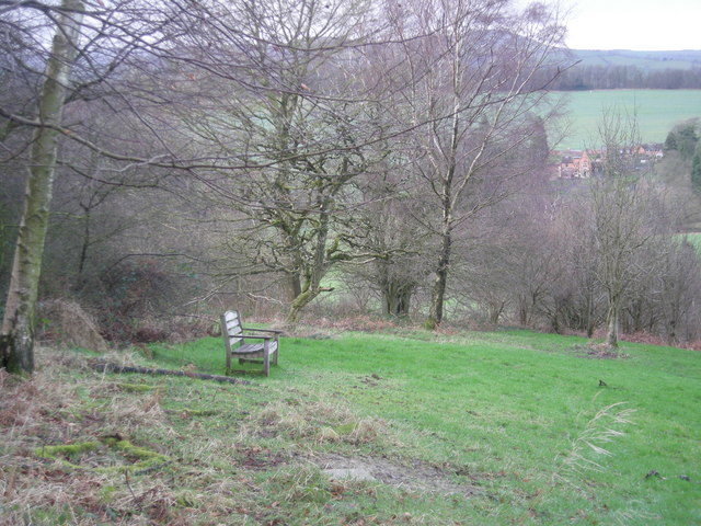 Bench in South Shropshire Memorial Park