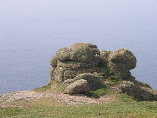 Rocks, Carn Lês Boel, West Cornwall
