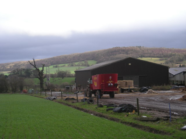 Farm buildings off Darby Lane