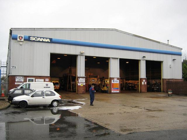 Scania Workshop