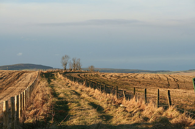 Old military road nor'east of Backmuir